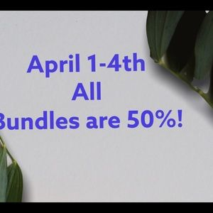 Bundle and send an offer for 50% off, I'll accept!